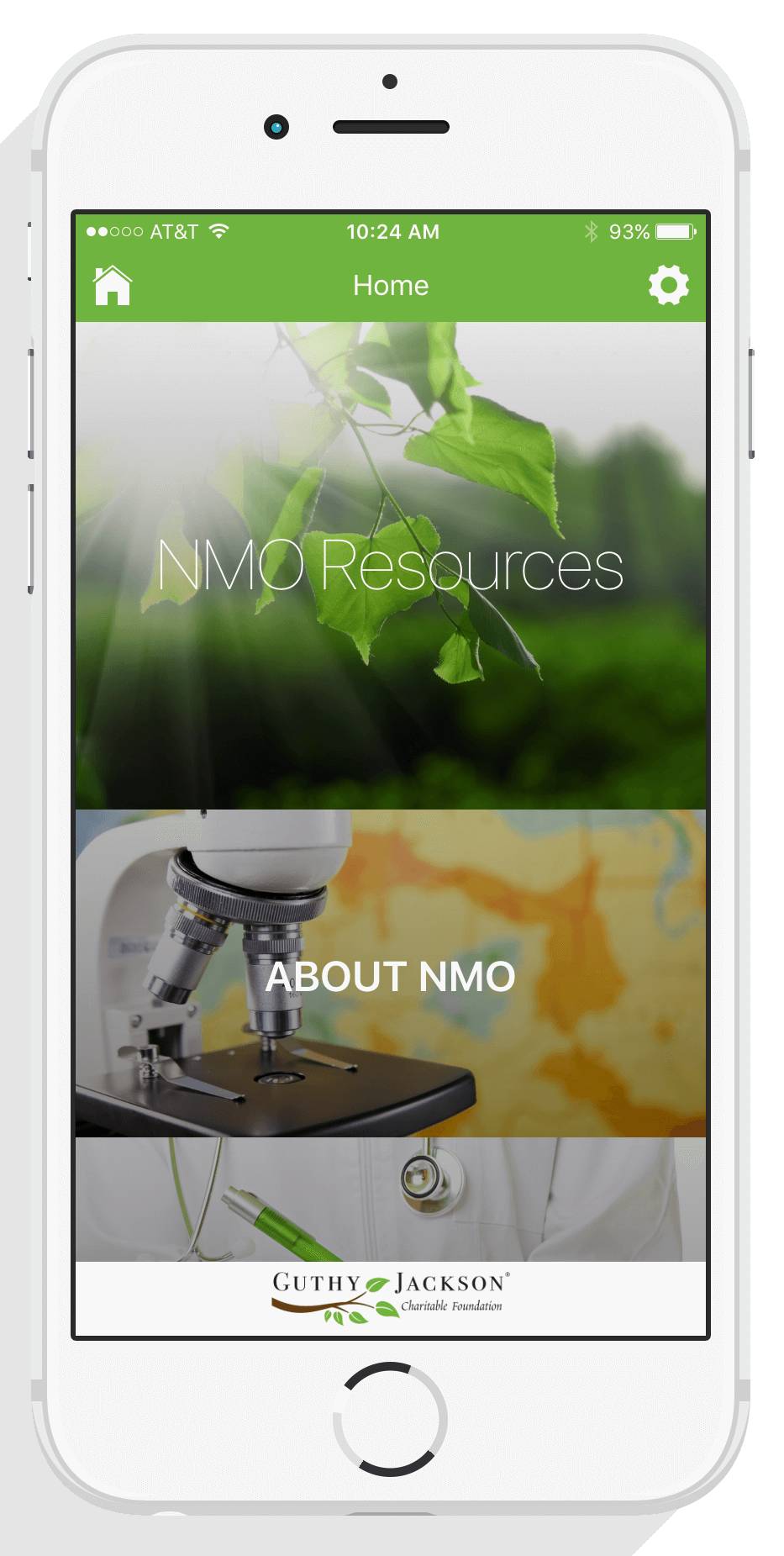 App Design and Development – NMO Resources